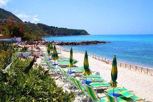 Portopirgos Campanella spiaggia