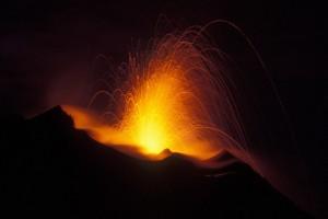 Esplosione Stromboli