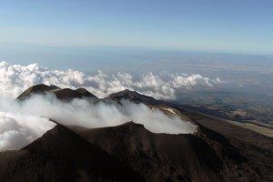 Etna in elicottero
