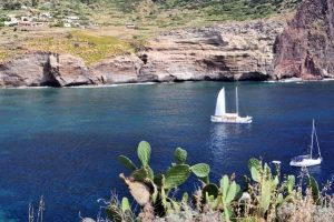 Catamarano sulle Isole