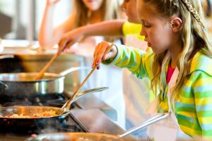 Cooking course for children Tropea